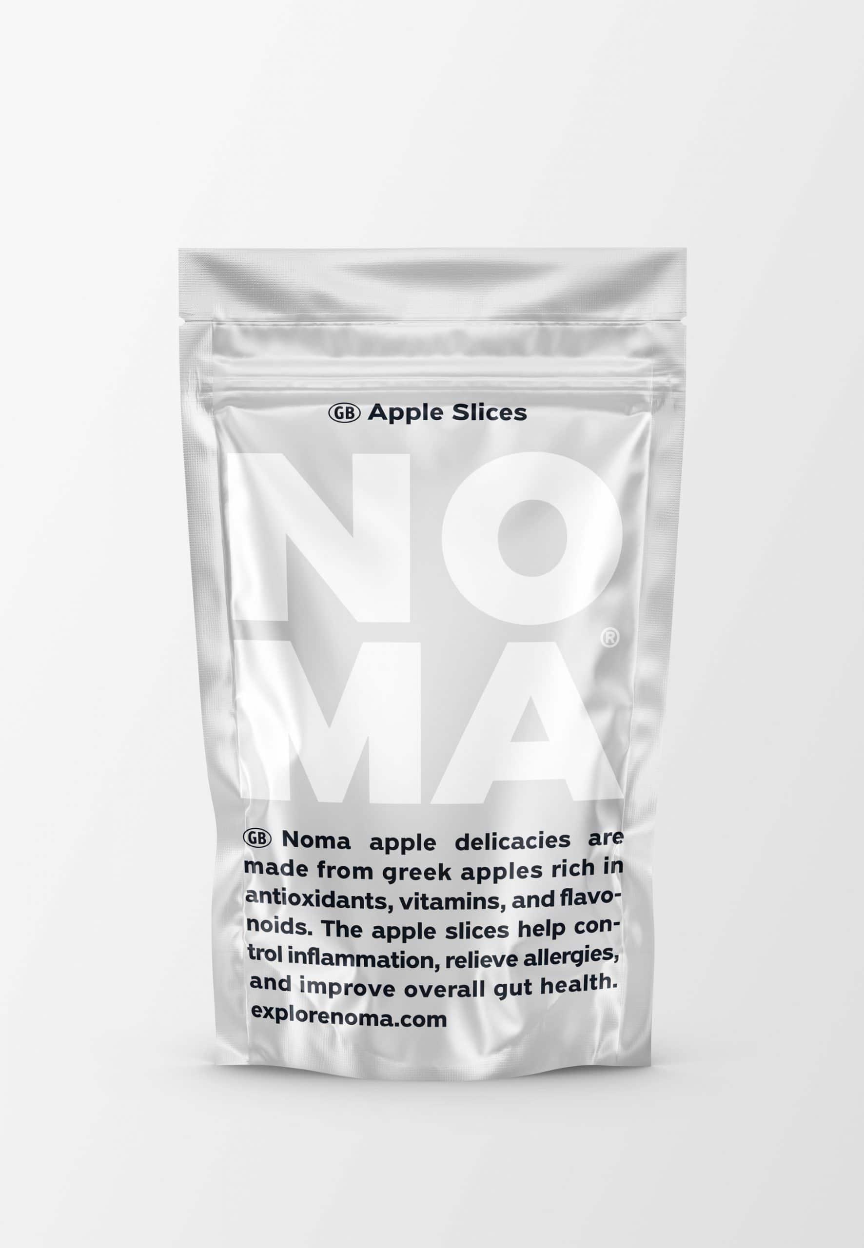 Λιχουδιά αφυδατωμένου μήλου για σκύλους