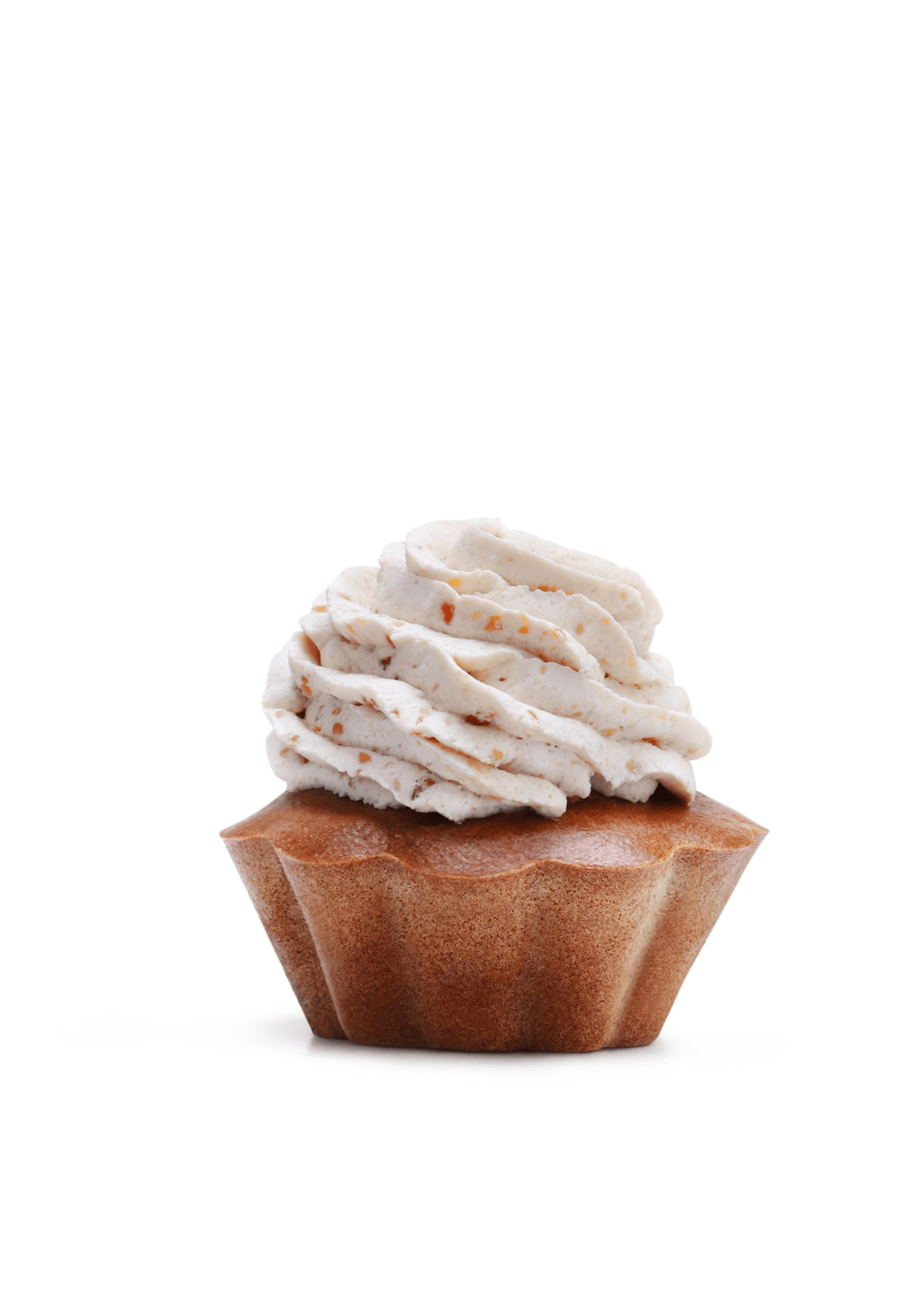Cupcake για σκύλους με φυστικοβούτυρο
