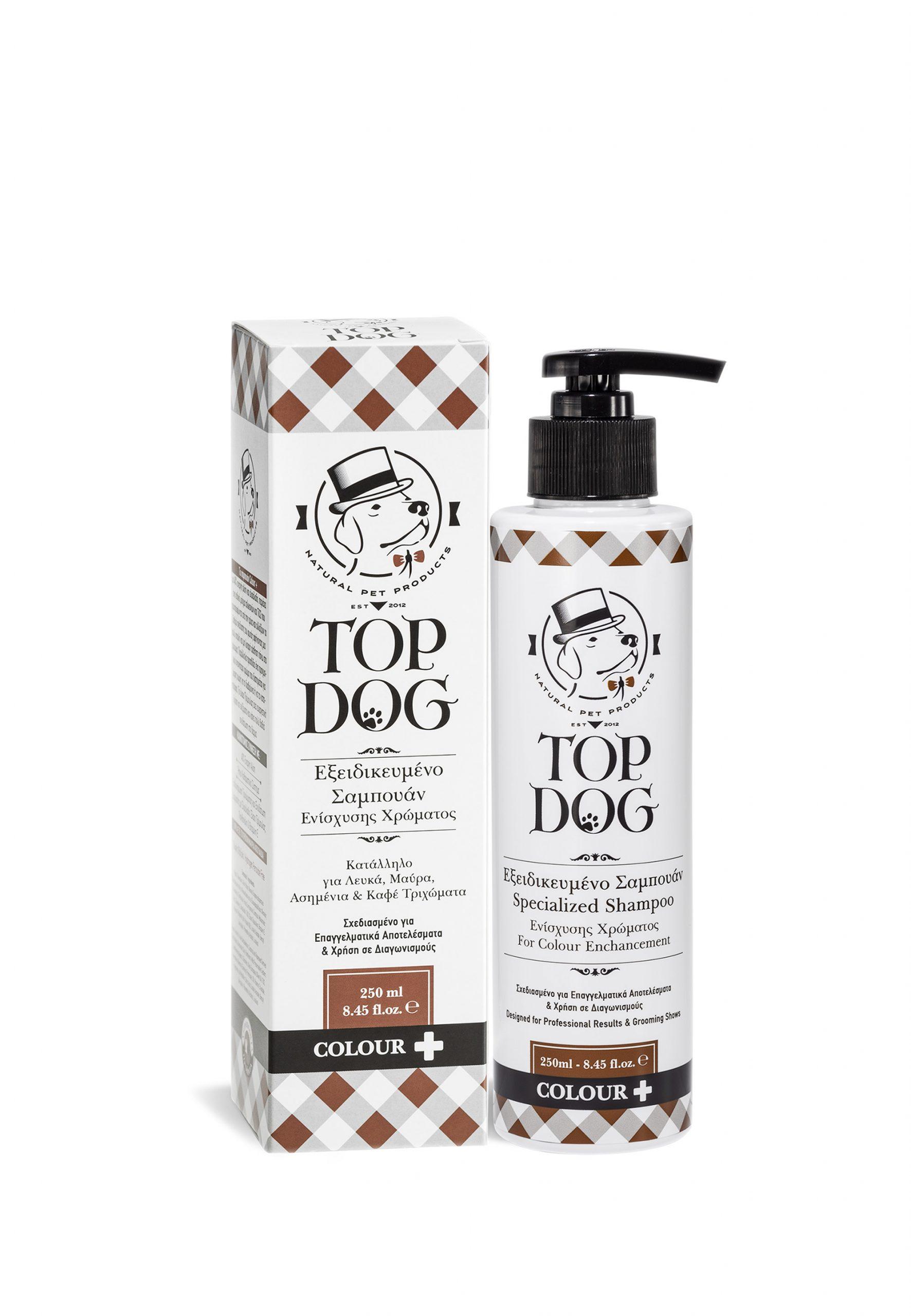 Σαμπουάν Top Dog Color Plus