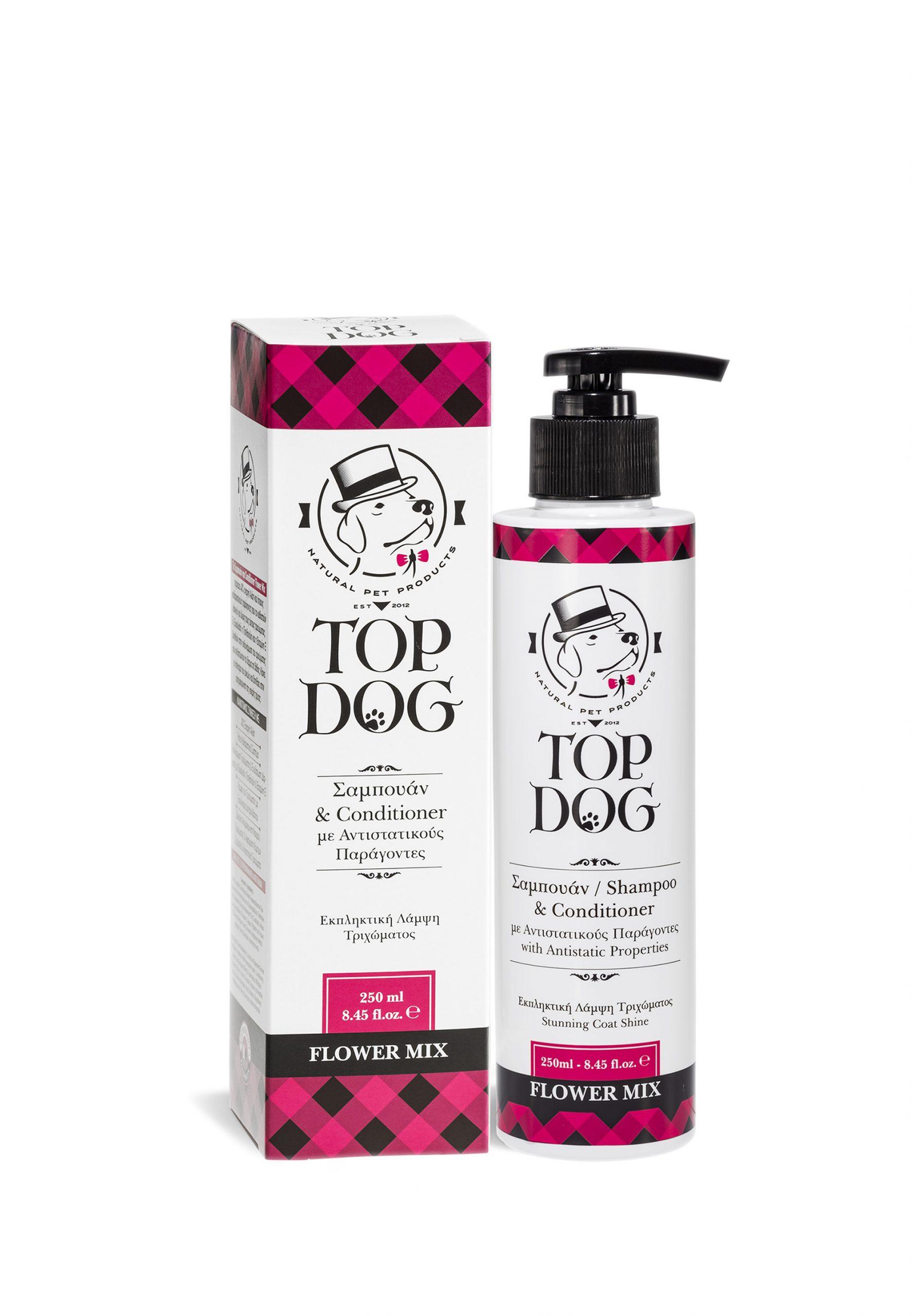 Σαμπουάν Top Dog Flower Mix